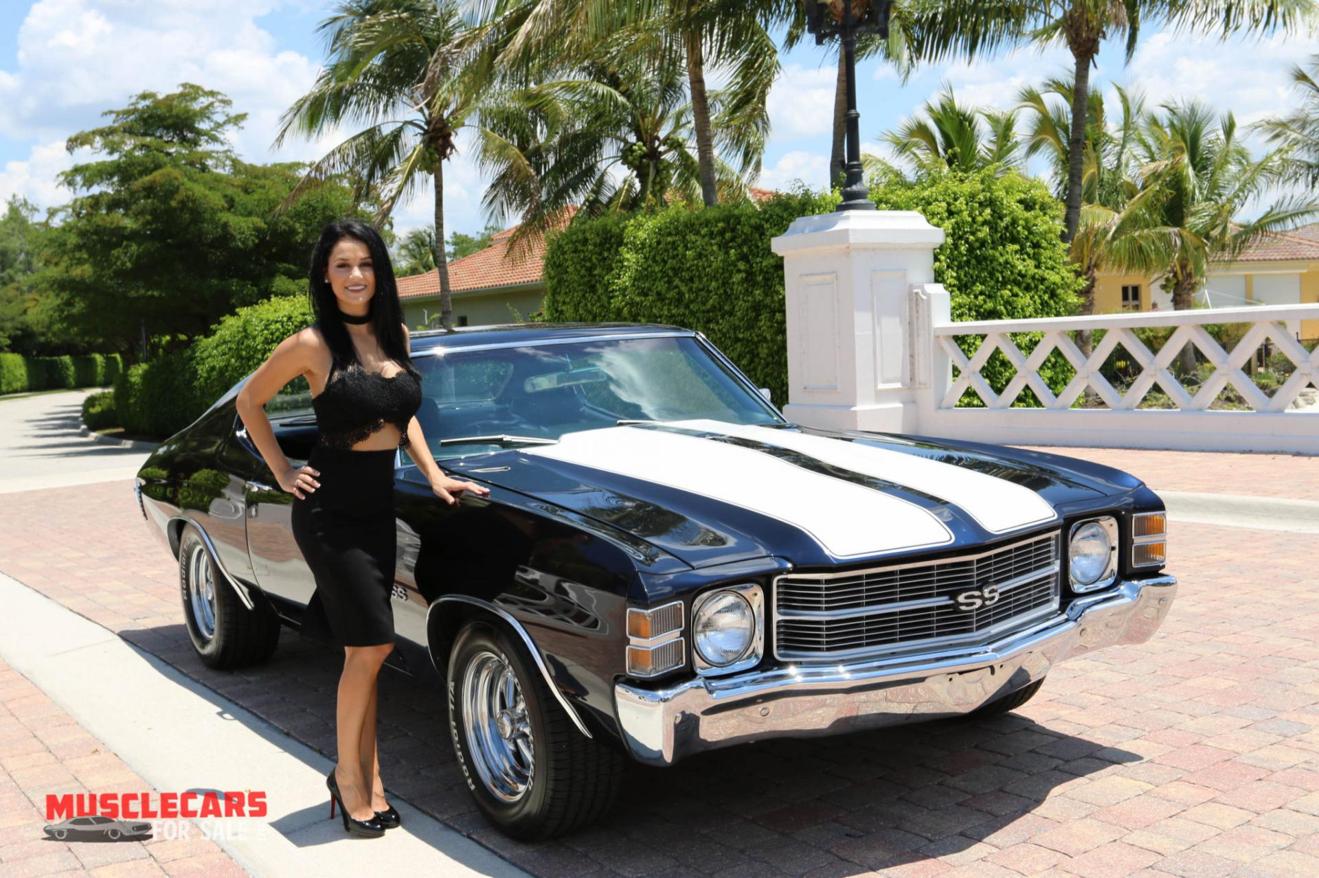 Used 1971 Chevrolet Chevelle SS for sale Sold at Muscle Cars for Sale Inc. in Fort Myers FL 33912 3