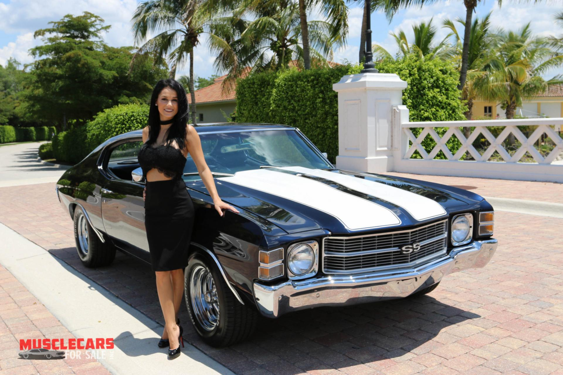 Used 1971 Chevrolet Chevelle SS for sale Sold at Muscle Cars for Sale Inc. in Fort Myers FL 33912 4