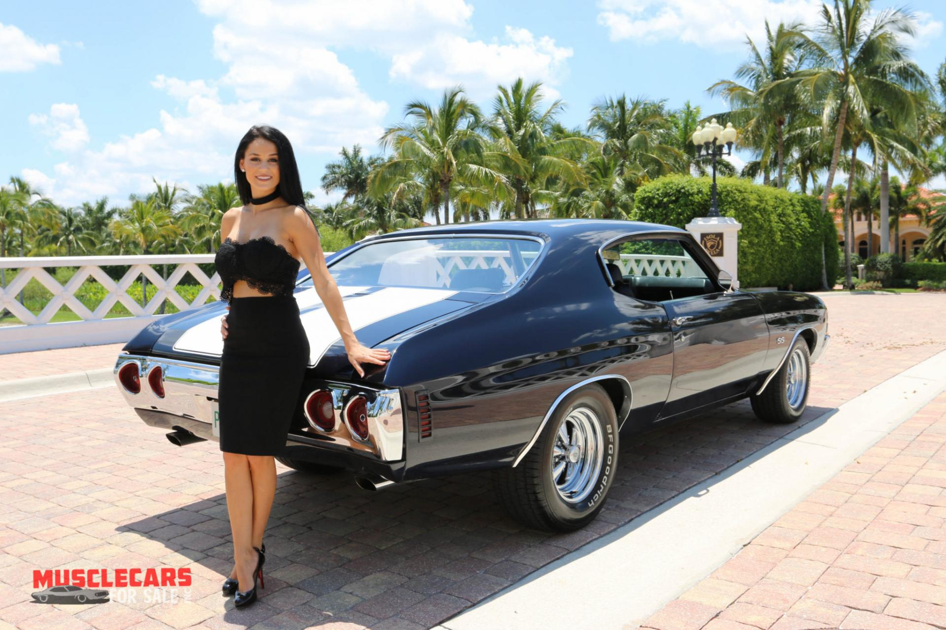 Used 1971 Chevrolet Chevelle SS for sale Sold at Muscle Cars for Sale Inc. in Fort Myers FL 33912 6