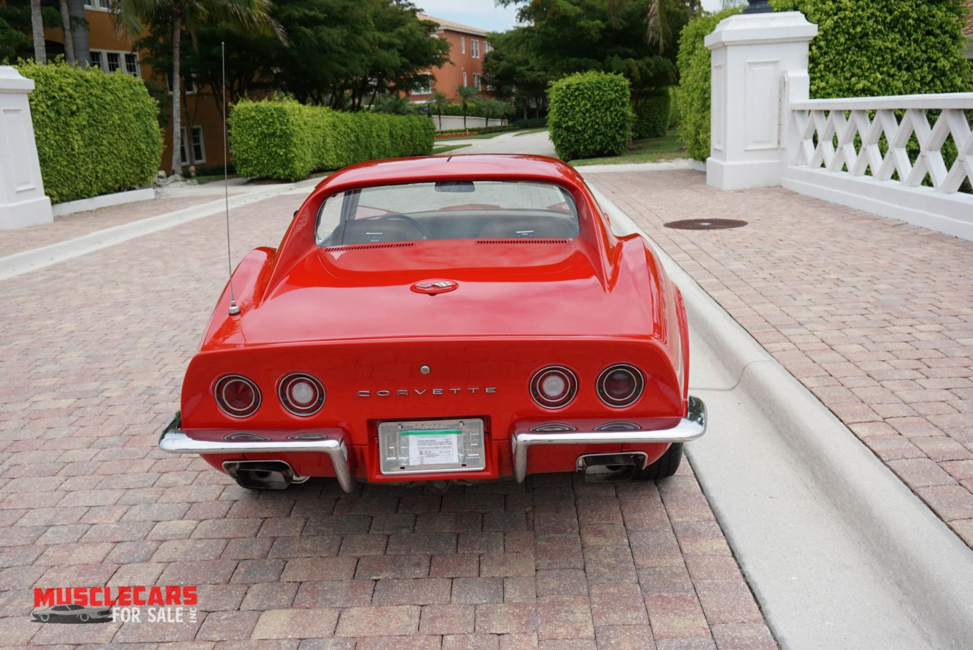 Used 1972 Chevrolet Corvette for sale Sold at Muscle Cars for Sale Inc. in Fort Myers FL 33912 7