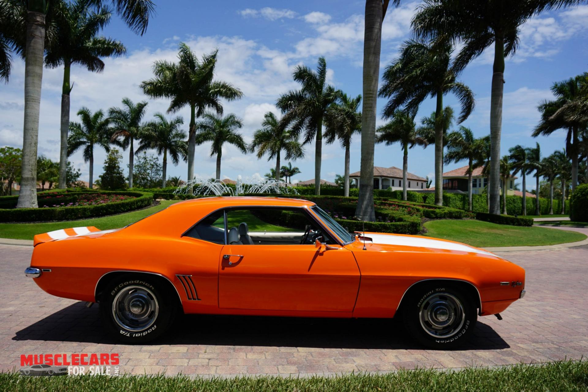 Used 1969 Chevrolet Camaro Z/28 for sale Sold at Muscle Cars for Sale Inc. in Fort Myers FL 33912 2