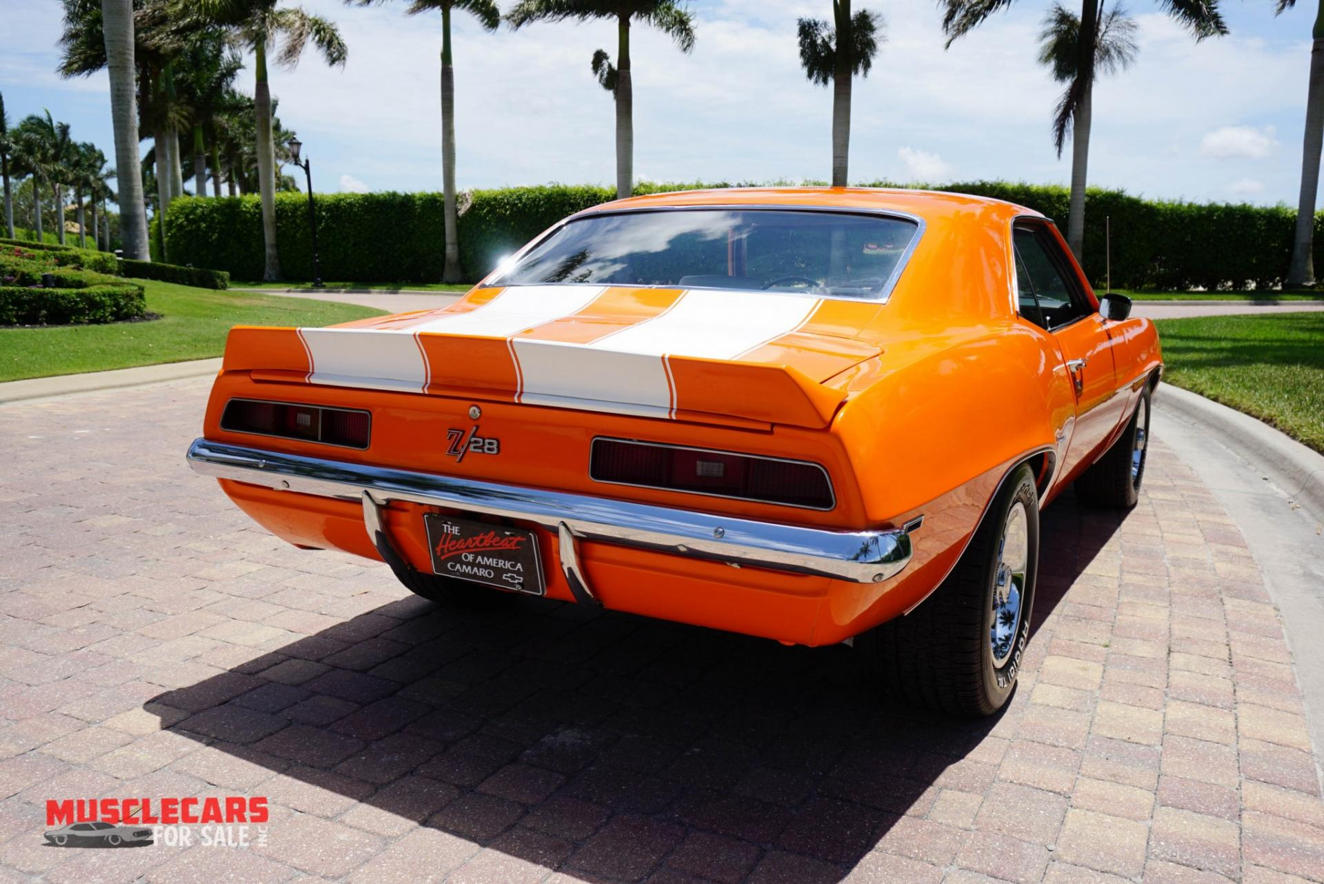 Used 1969 Chevrolet Camaro Z/28 for sale Sold at Muscle Cars for Sale Inc. in Fort Myers FL 33912 4