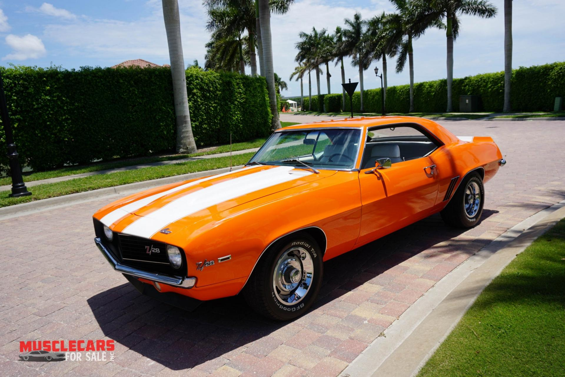 Used 1969 Chevrolet Camaro Z/28 for sale Sold at Muscle Cars for Sale Inc. in Fort Myers FL 33912 7