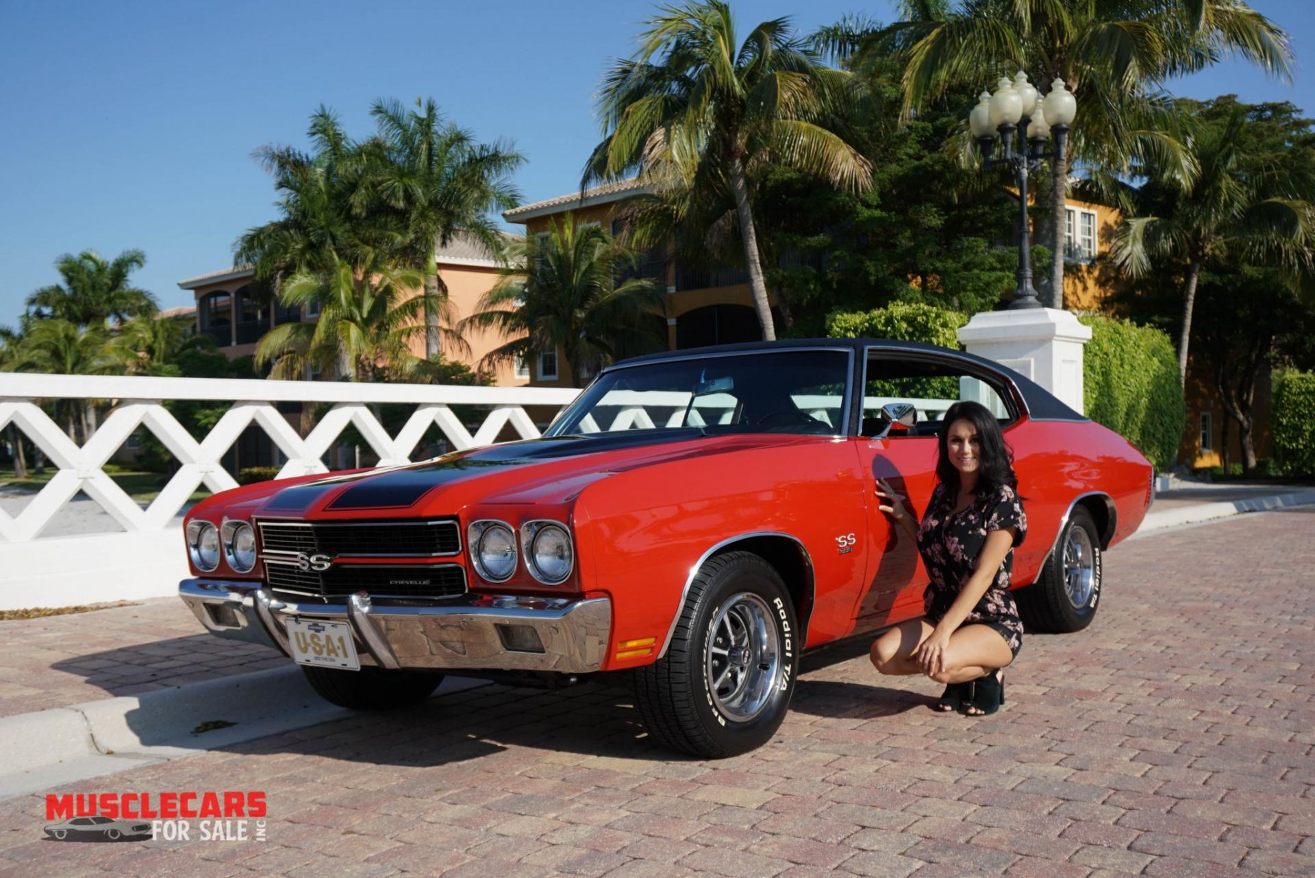 Used 1970 Chevrolet Chevelle SS for sale Sold at Muscle Cars for Sale Inc. in Fort Myers FL 33912 2