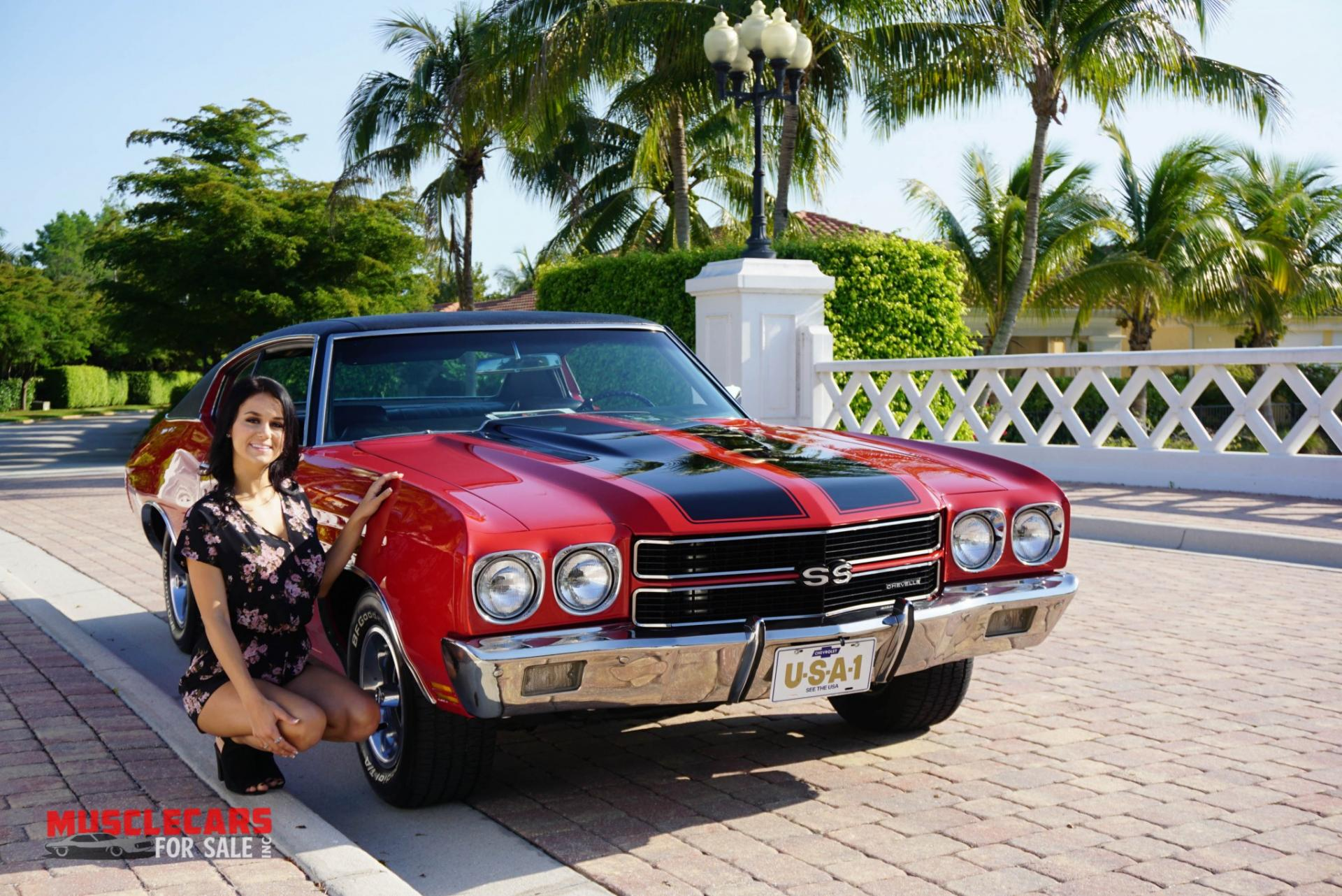 Used 1970 Chevrolet Chevelle SS for sale Sold at Muscle Cars for Sale Inc. in Fort Myers FL 33912 3