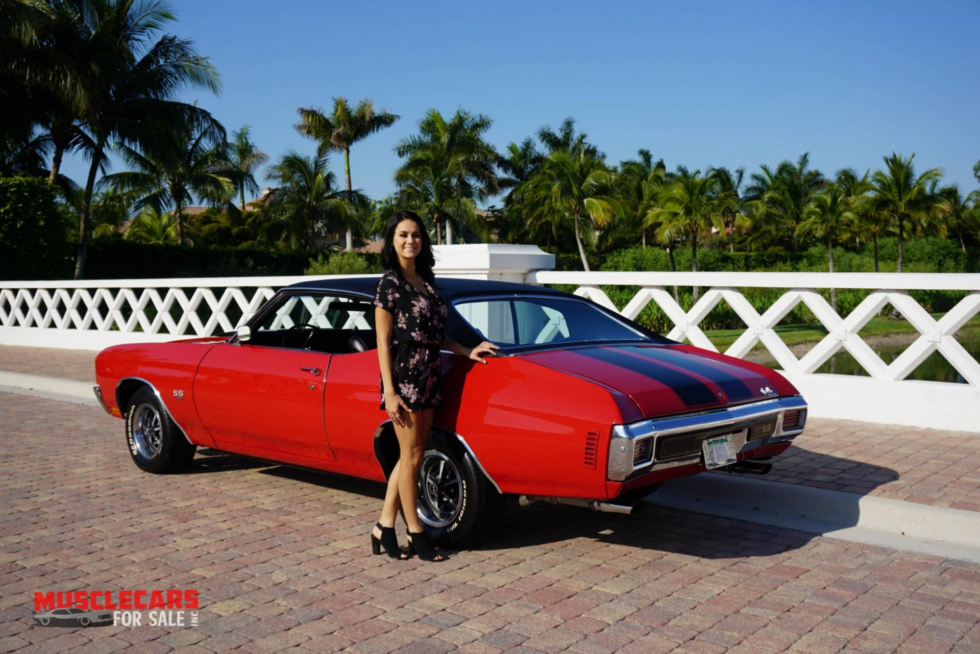 Used 1970 Chevrolet Chevelle SS for sale Sold at Muscle Cars for Sale Inc. in Fort Myers FL 33912 5