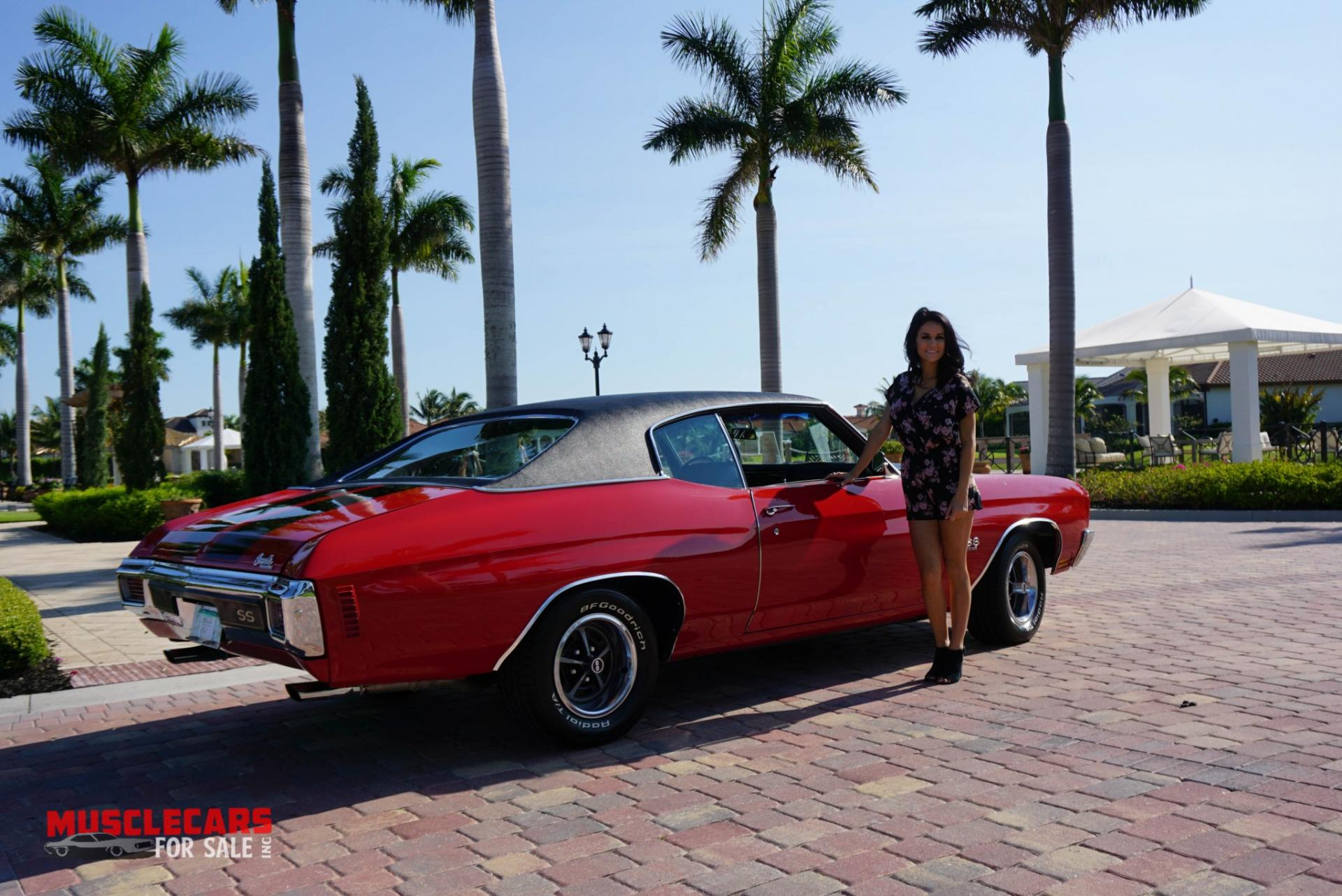 Used 1970 Chevrolet Chevelle SS for sale Sold at Muscle Cars for Sale Inc. in Fort Myers FL 33912 7