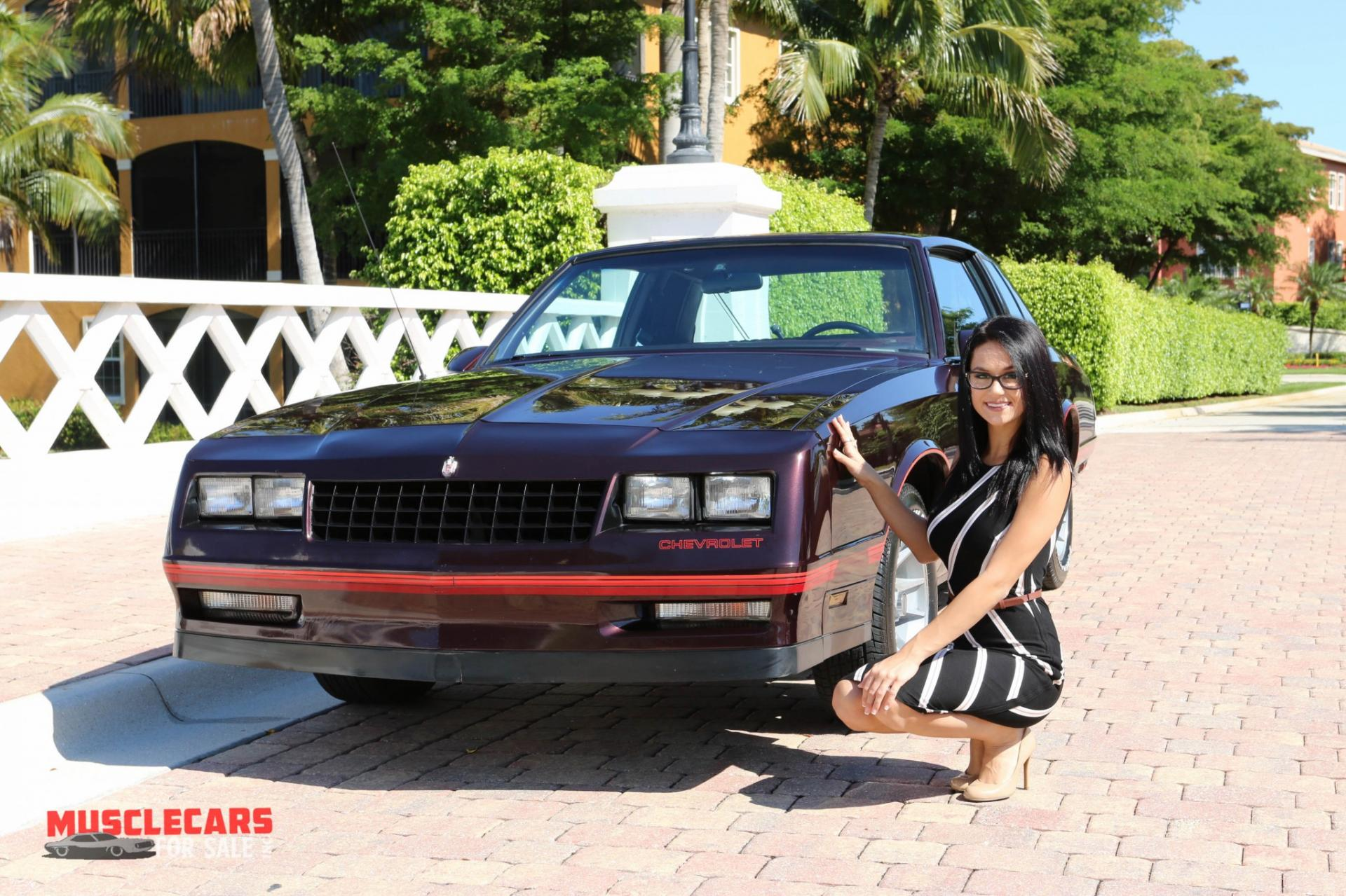 Used 1987 Chevrolet Monte Carlo SS for sale Sold at Muscle Cars for Sale Inc. in Fort Myers FL 33912 2