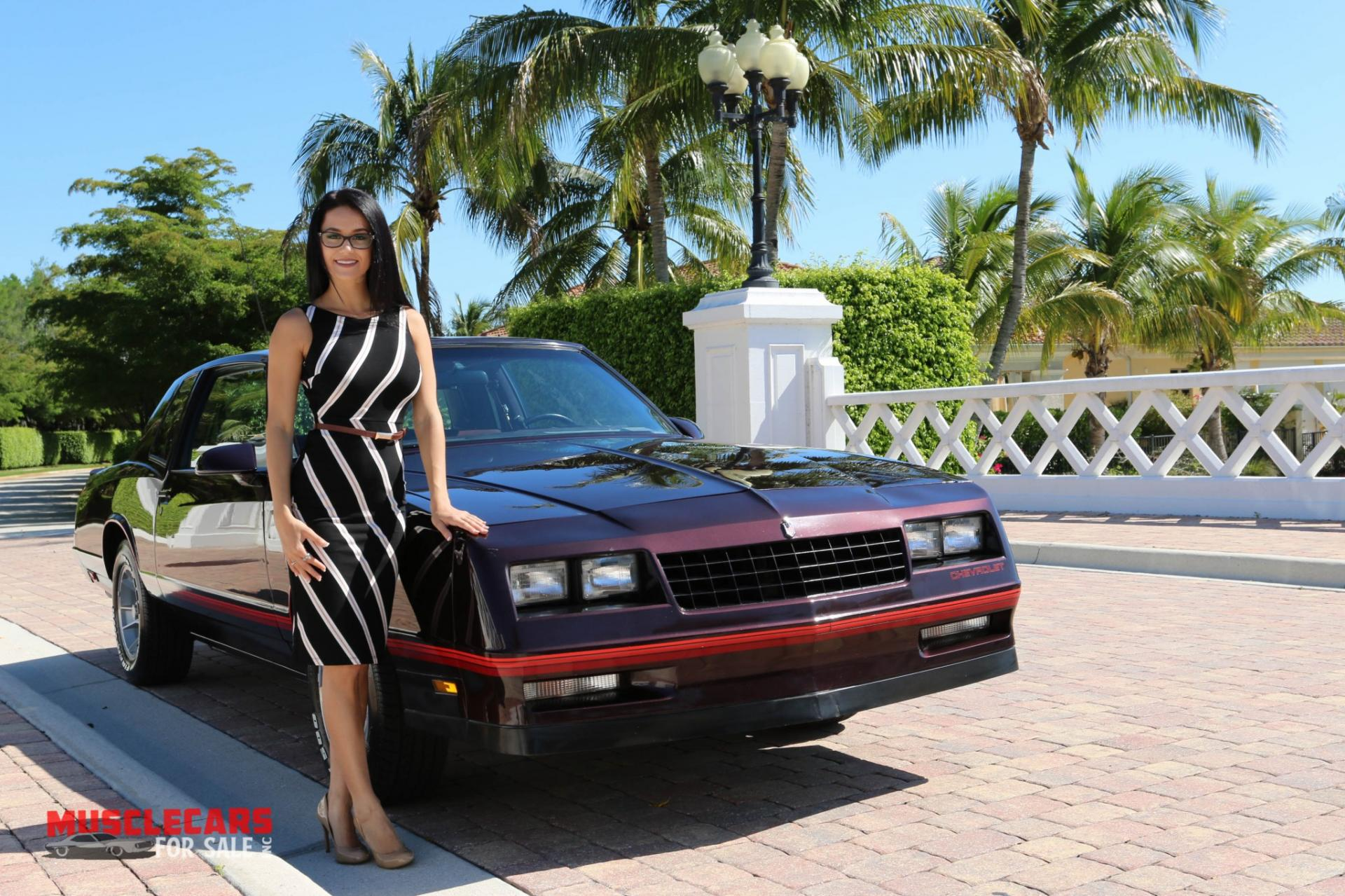 Used 1987 Chevrolet Monte Carlo SS for sale Sold at Muscle Cars for Sale Inc. in Fort Myers FL 33912 3