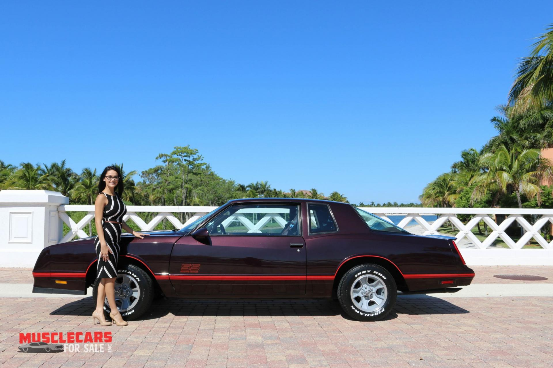 Used 1987 Chevrolet Monte Carlo SS for sale Sold at Muscle Cars for Sale Inc. in Fort Myers FL 33912 8