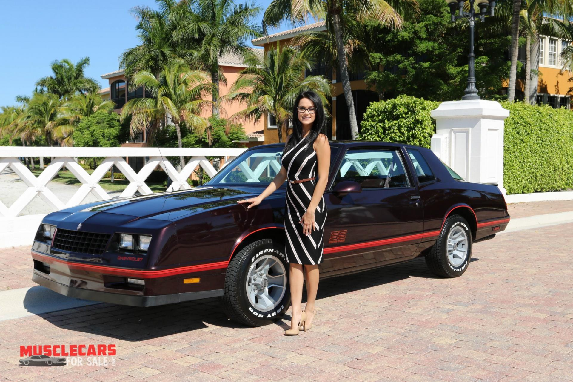 Used 1987 Chevrolet Monte Carlo SS for sale Sold at Muscle Cars for Sale Inc. in Fort Myers FL 33912 1
