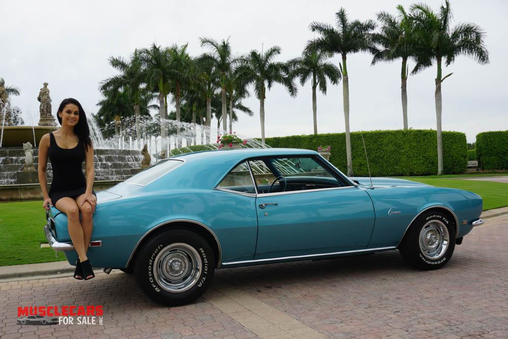 Used 1968 Chevrolet Camaro for sale Sold at Muscle Cars for Sale Inc. in Fort Myers FL 33912 2