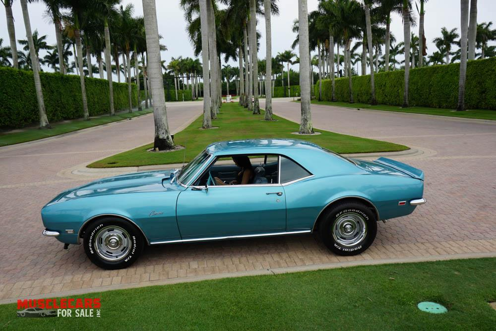 Used 1968 Chevrolet Camaro for sale Sold at Muscle Cars for Sale Inc. in Fort Myers FL 33912 8
