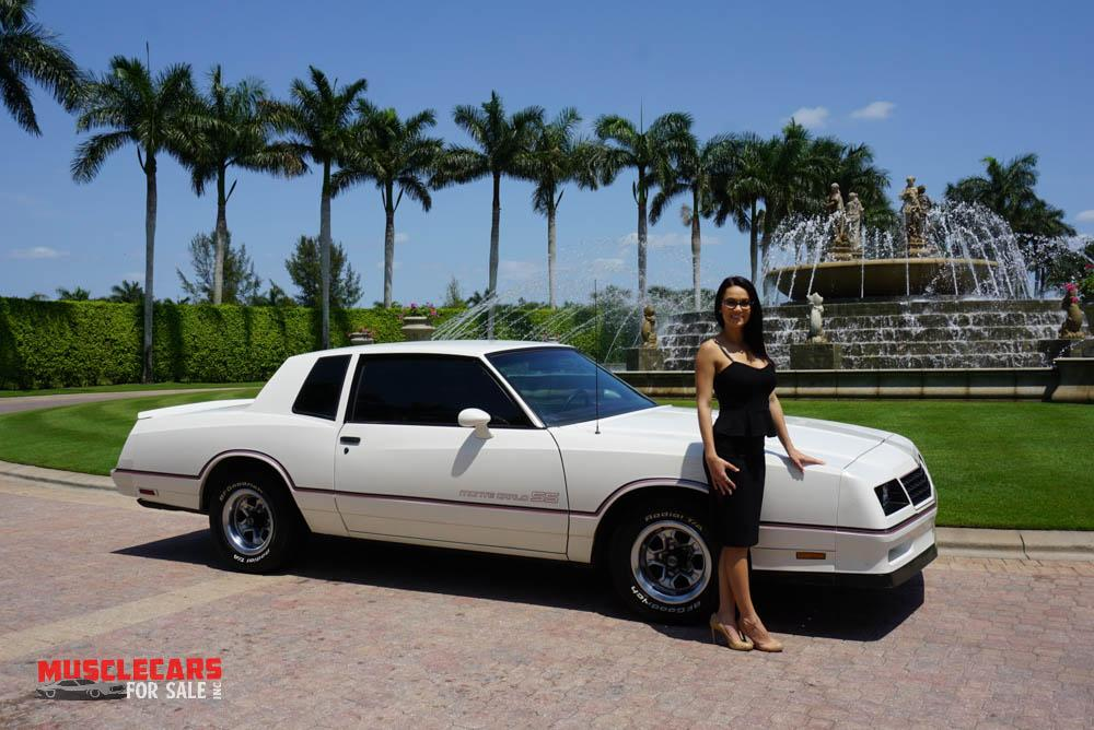 Used 1985 Chevrolet Monte Carlo SS for sale Sold at Muscle Cars for Sale Inc. in Fort Myers FL 33912 1