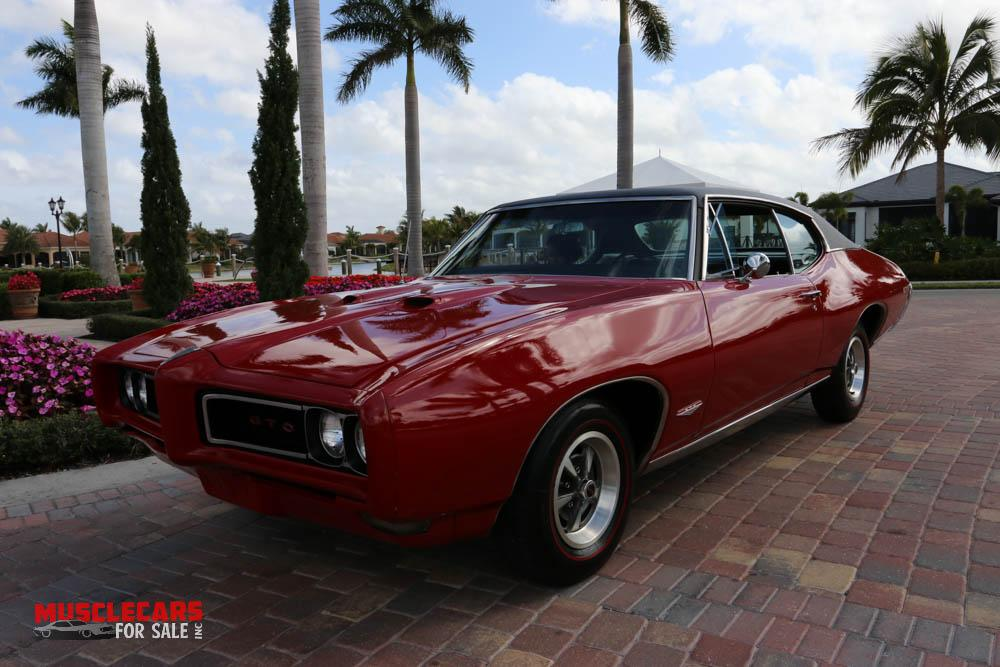 Used 1968 Pontiac  GTO for sale Sold at Muscle Cars for Sale Inc. in Fort Myers FL 33912 2