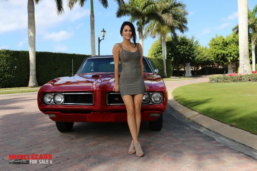 Used 1968 Pontiac  GTO for sale Sold at Muscle Cars for Sale Inc. in Fort Myers FL 33912 4