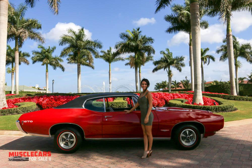 Used 1968 Pontiac  GTO for sale Sold at Muscle Cars for Sale Inc. in Fort Myers FL 33912 6