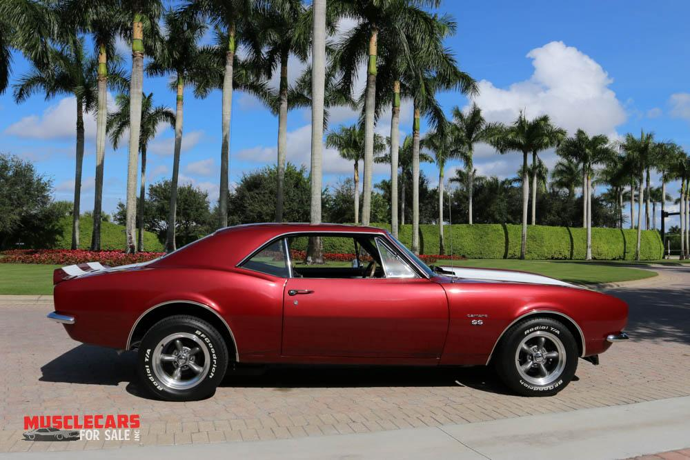 Used 1967 Chevrolet Camaro SS for sale Sold at Muscle Cars for Sale Inc. in Fort Myers FL 33912 2