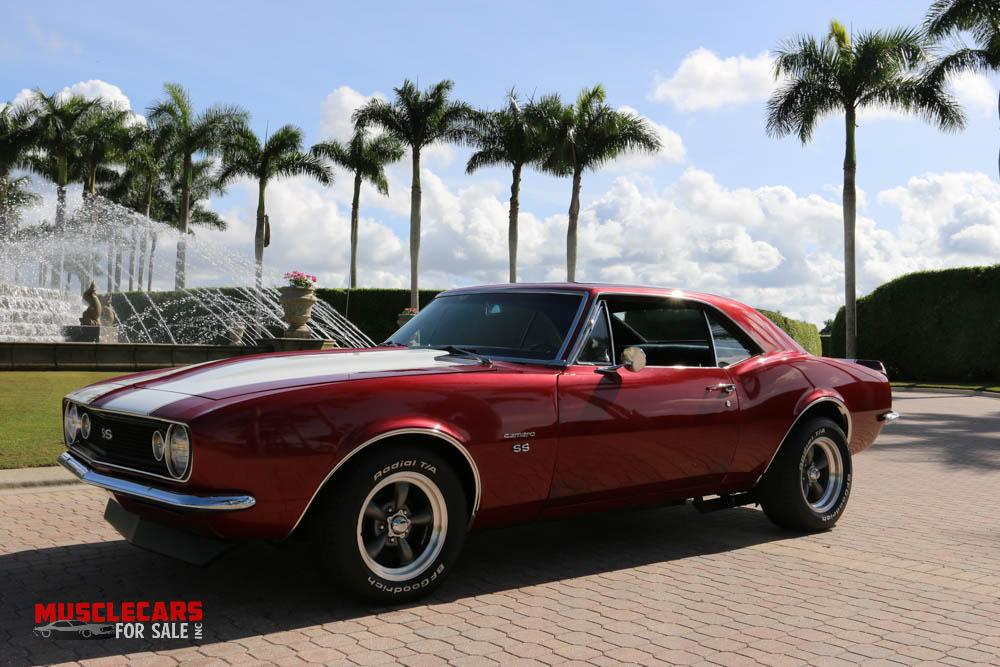 Used 1967 Chevrolet Camaro SS for sale Sold at Muscle Cars for Sale Inc. in Fort Myers FL 33912 1