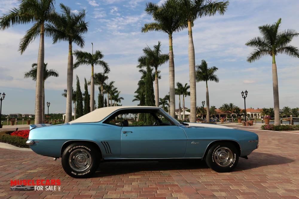 Used 1969 Chevrolet Camaro Z/28 for sale Sold at Muscle Cars for Sale Inc. in Fort Myers FL 33912 5
