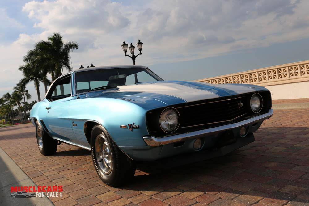 Used 1969 Chevrolet Camaro Z/28 for sale Sold at Muscle Cars for Sale Inc. in Fort Myers FL 33912 1
