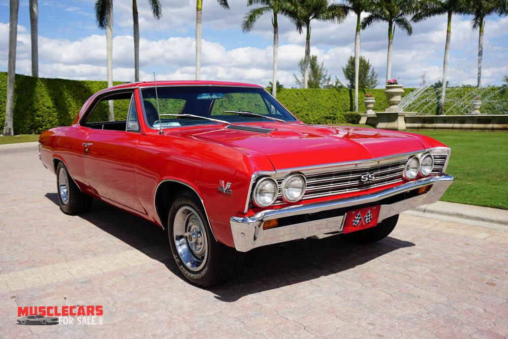 Used 1967 Chevrolet Chevelle SS for sale Sold at Muscle Cars for Sale Inc. in Fort Myers FL 33912 1