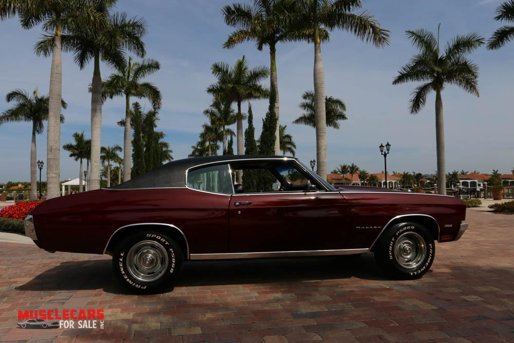 Used 1970 Chevrolet Malibu for sale Sold at Muscle Cars for Sale Inc. in Fort Myers FL 33912 4