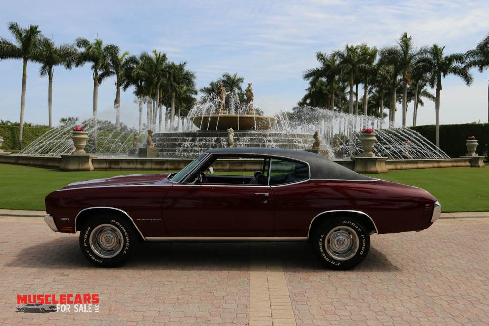 Used 1970 Chevrolet Malibu for sale Sold at Muscle Cars for Sale Inc. in Fort Myers FL 33912 6