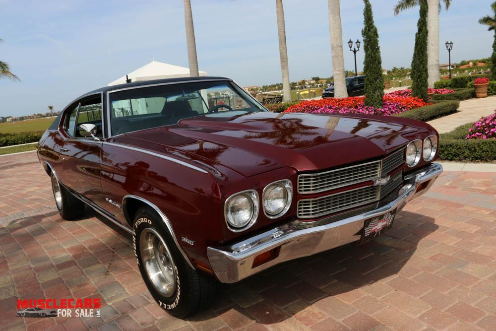 Used 1970 Chevrolet Malibu for sale Sold at Muscle Cars for Sale Inc. in Fort Myers FL 33912 1