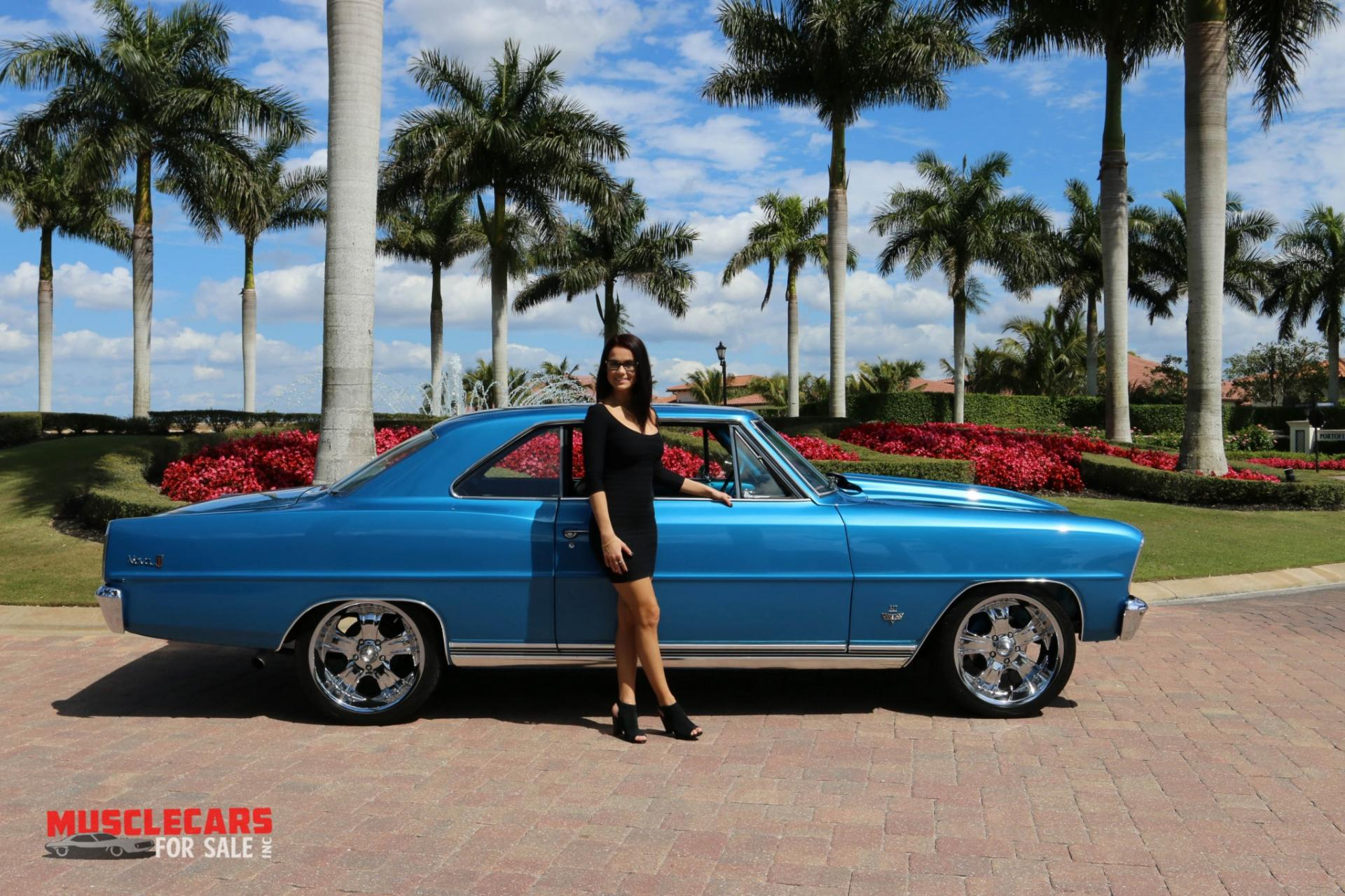 Used 1966 Chevrolet Nova for sale Sold at Muscle Cars for Sale Inc. in Fort Myers FL 33912 5