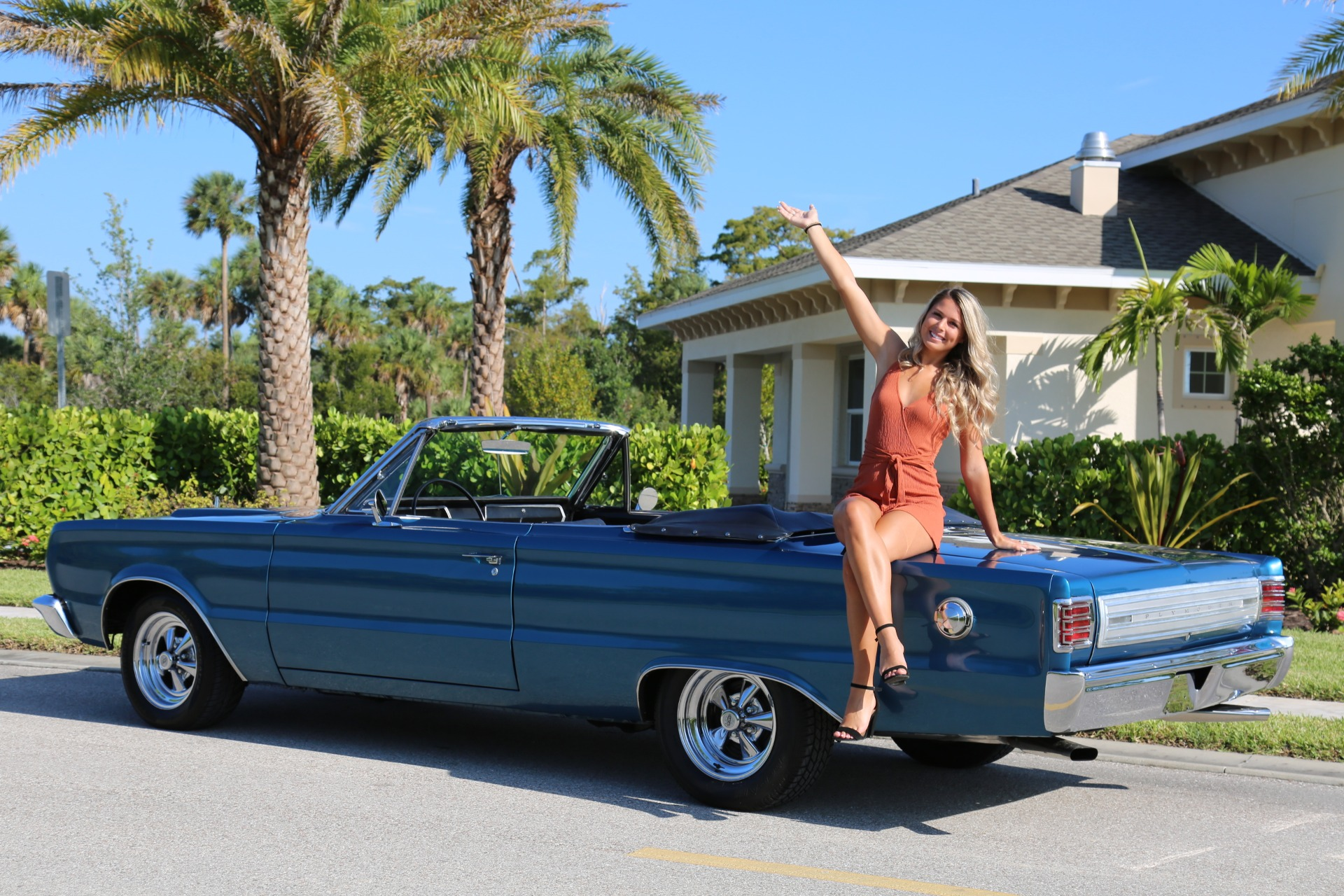 Used 1966 Plymouth Belvedere 383 V8 for sale Sold at Muscle Cars for Sale Inc. in Fort Myers FL 33912 4