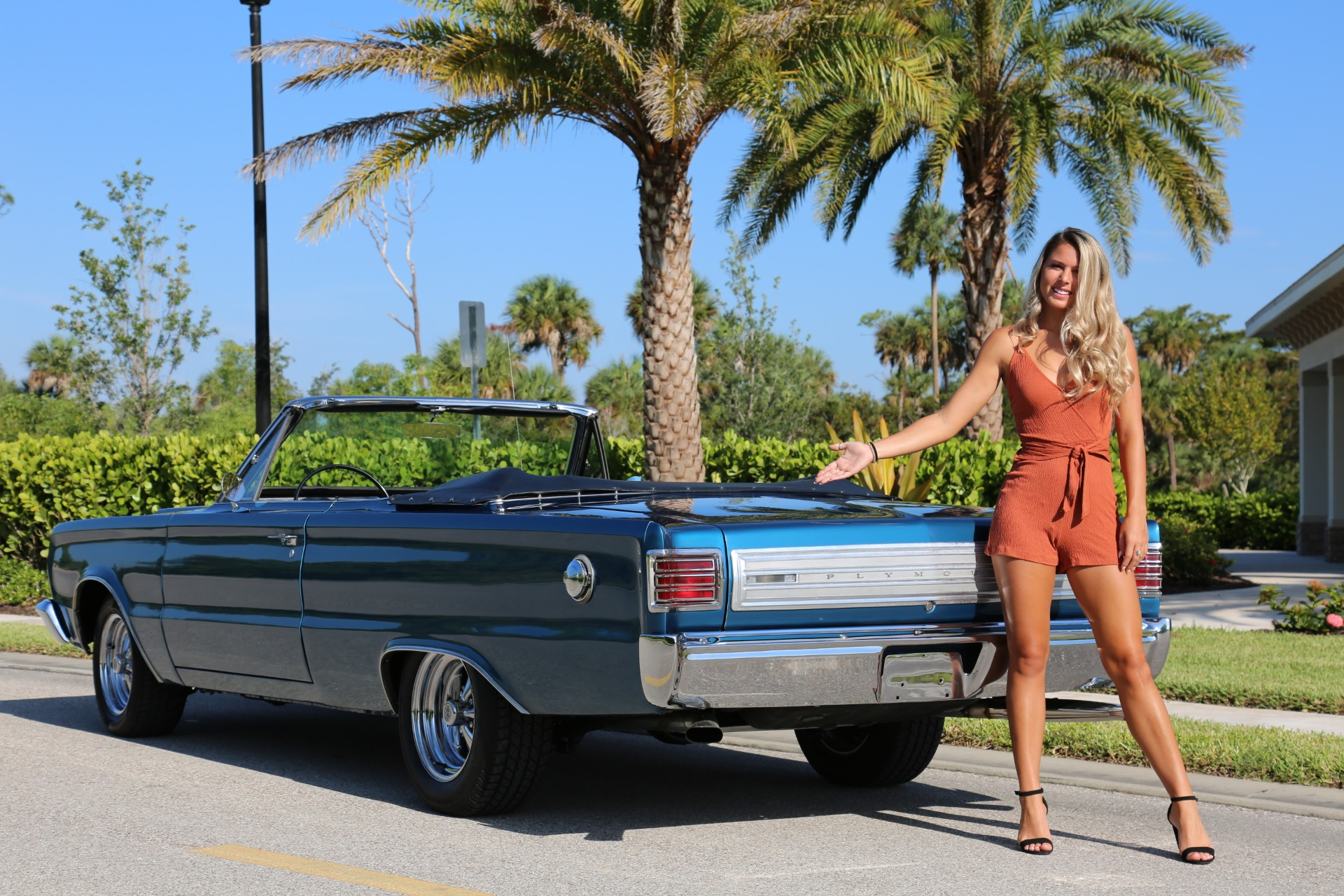 Used 1966 Plymouth Belvedere 383 V8 for sale Sold at Muscle Cars for Sale Inc. in Fort Myers FL 33912 5