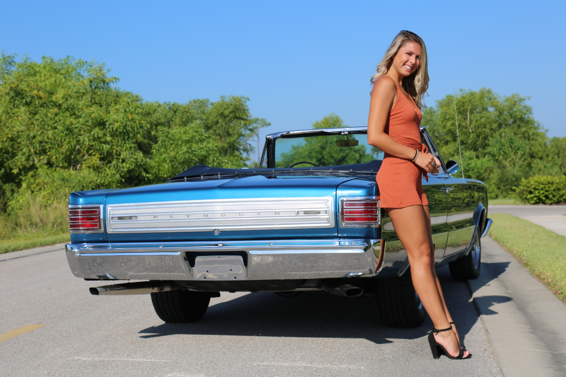 Used 1966 Plymouth Belvedere 383 V8 for sale Sold at Muscle Cars for Sale Inc. in Fort Myers FL 33912 6