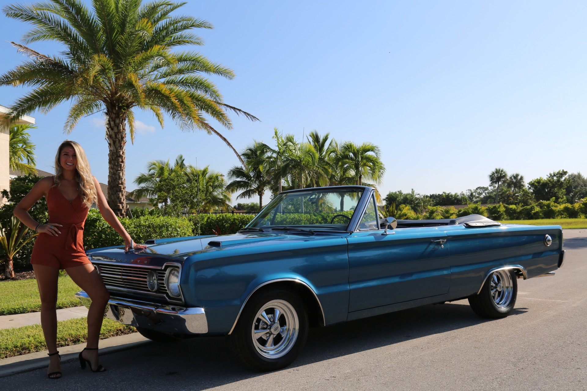 Used 1966 Plymouth Belvedere 383 V8 for sale Sold at Muscle Cars for Sale Inc. in Fort Myers FL 33912 1