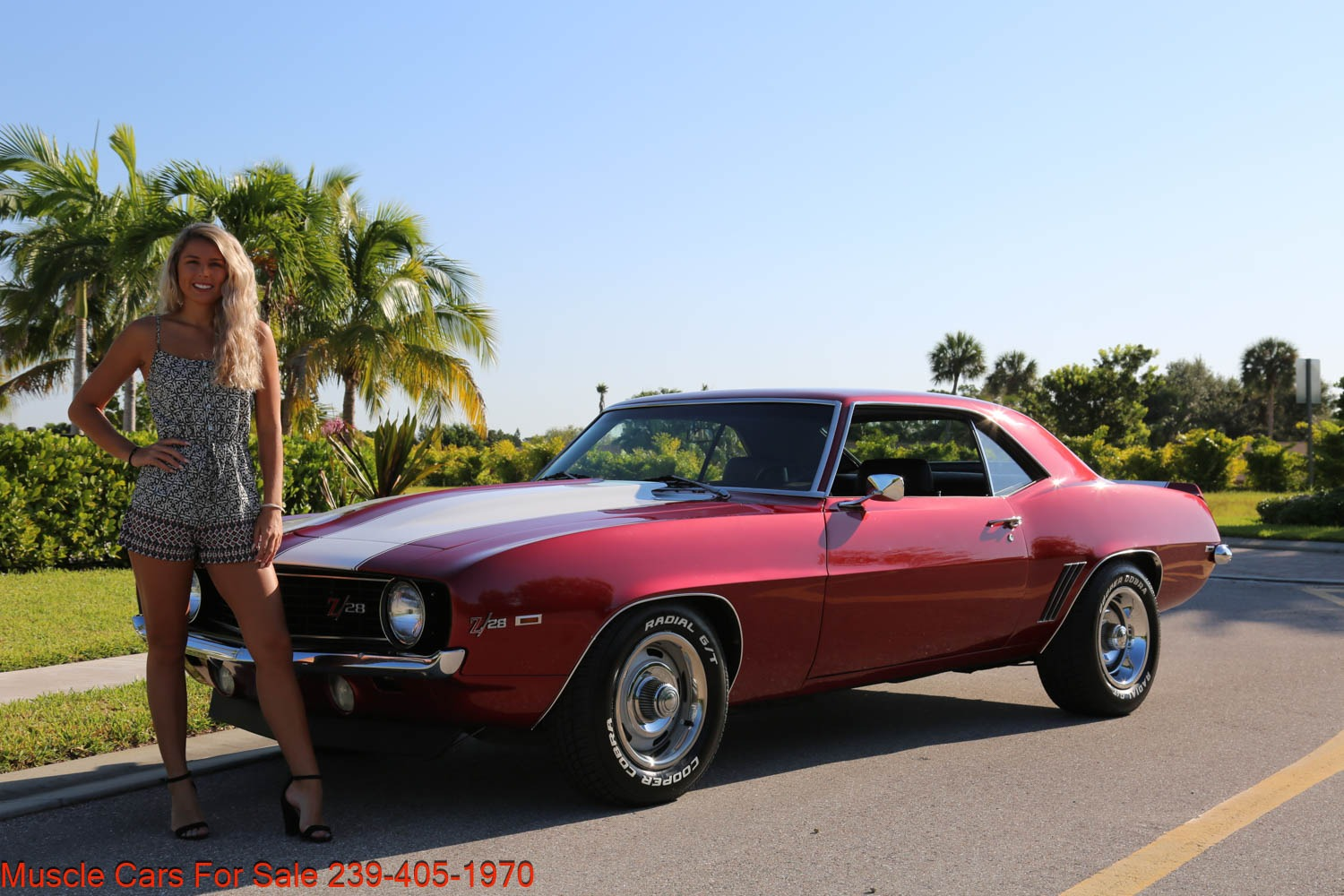 Used 1969 Chevrolet Camaro Z28 for sale Sold at Muscle Cars for Sale Inc. in Fort Myers FL 33912 1