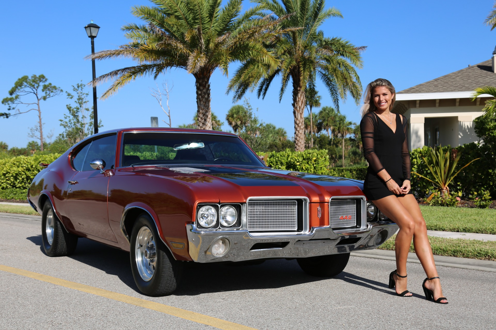 Used 1971 Oldsmobile Cutlass 442 for sale Sold at Muscle Cars for Sale Inc. in Fort Myers FL 33912 2