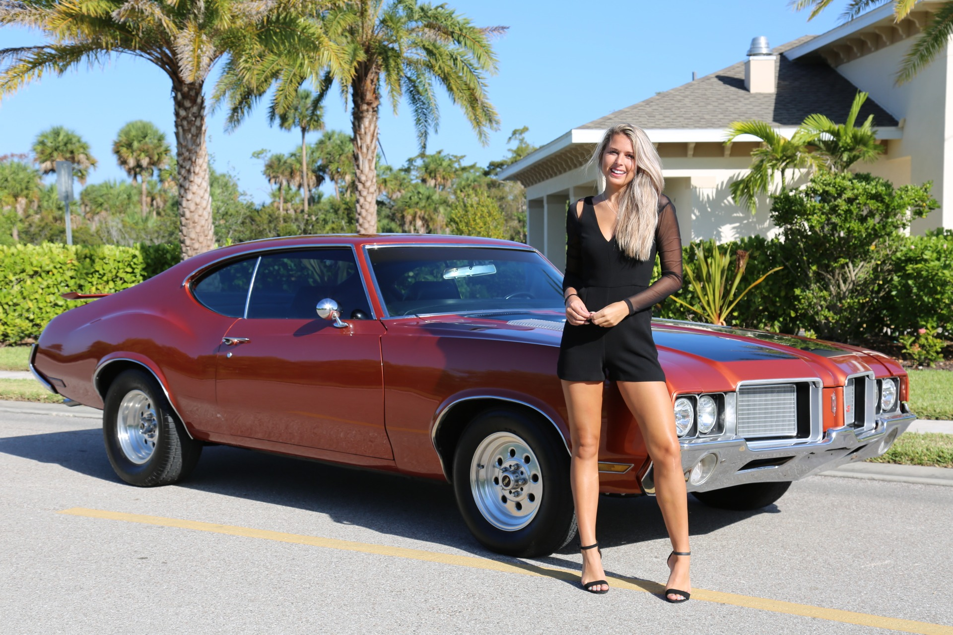 Used 1971 Oldsmobile Cutlass 442 for sale Sold at Muscle Cars for Sale Inc. in Fort Myers FL 33912 4