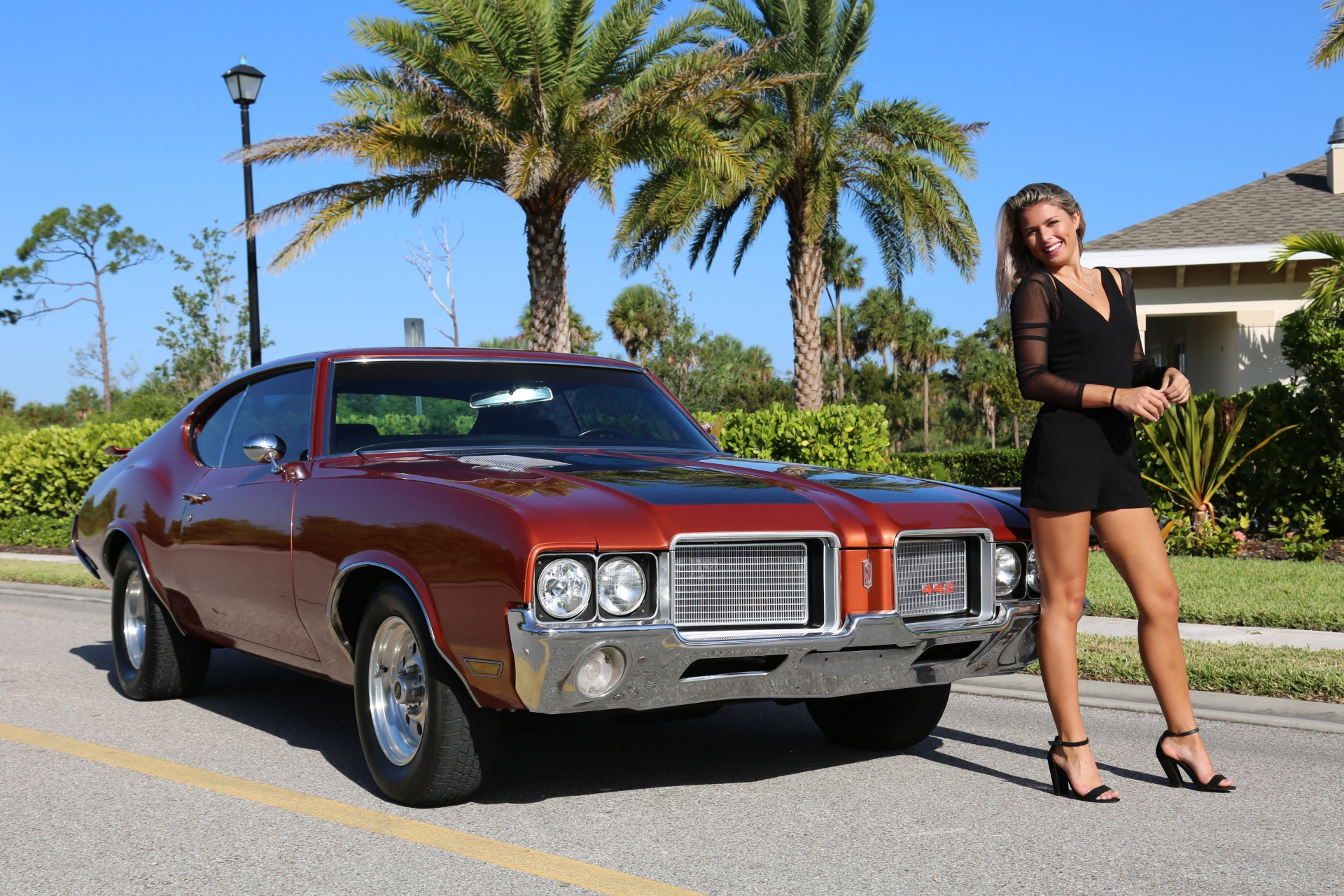 Used 1971 Oldsmobile Cutlass 442 for sale Sold at Muscle Cars for Sale Inc. in Fort Myers FL 33912 1