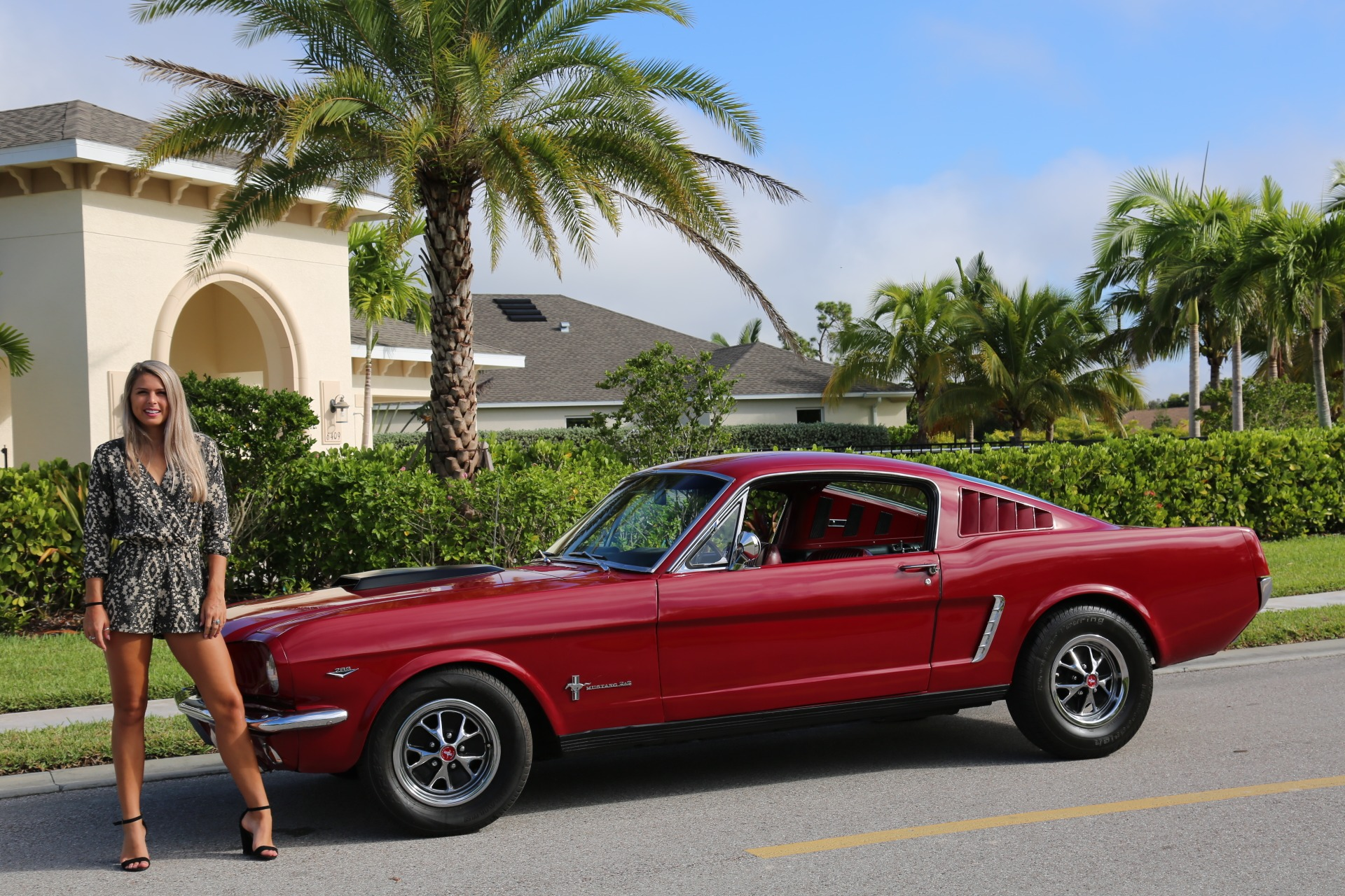 Used 1966 Ford Mustang Fastback 2+2 for sale Sold at Muscle Cars for Sale Inc. in Fort Myers FL 33912 2