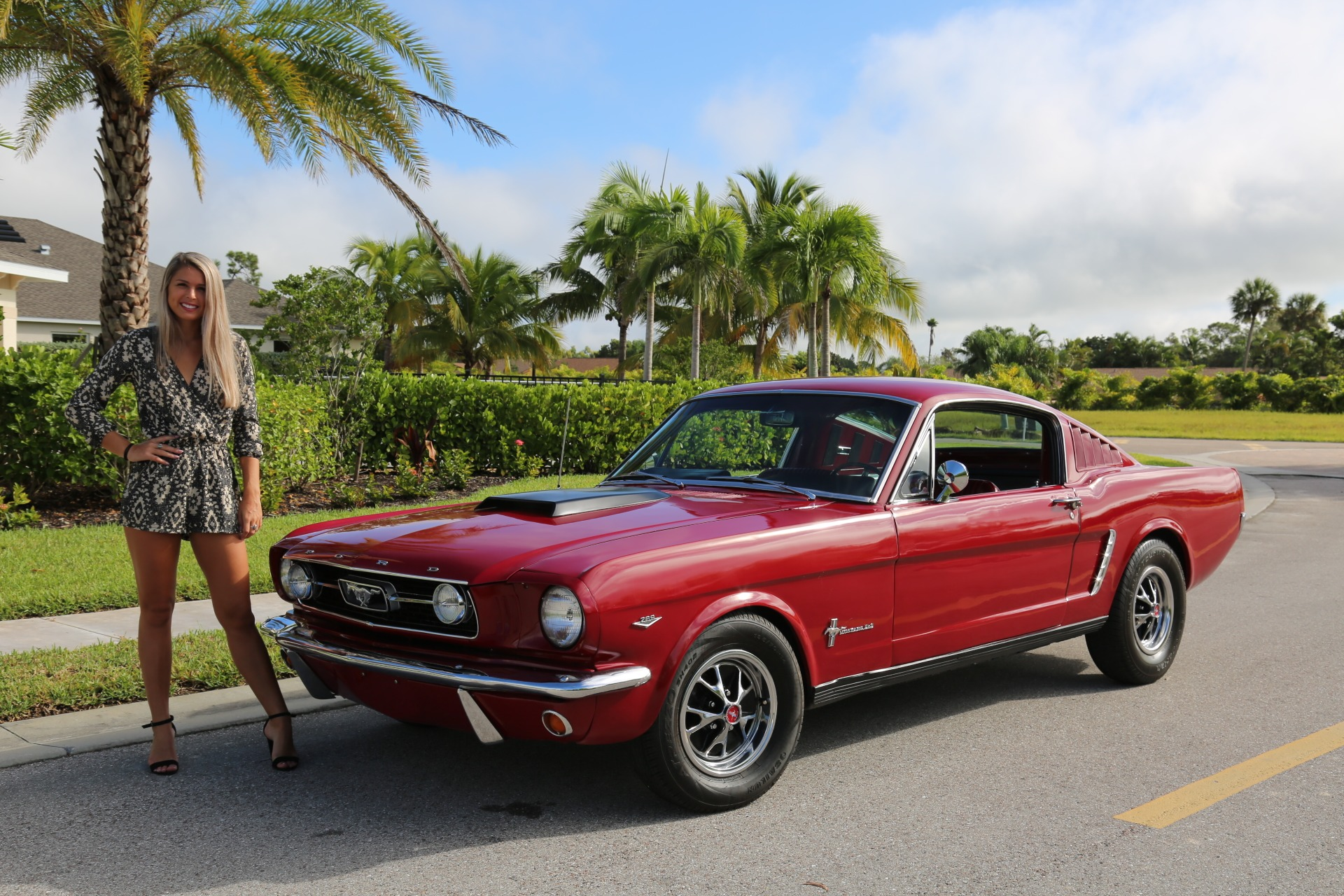 Used 1966 Ford Mustang Fastback 2+2 for sale Sold at Muscle Cars for Sale Inc. in Fort Myers FL 33912 1
