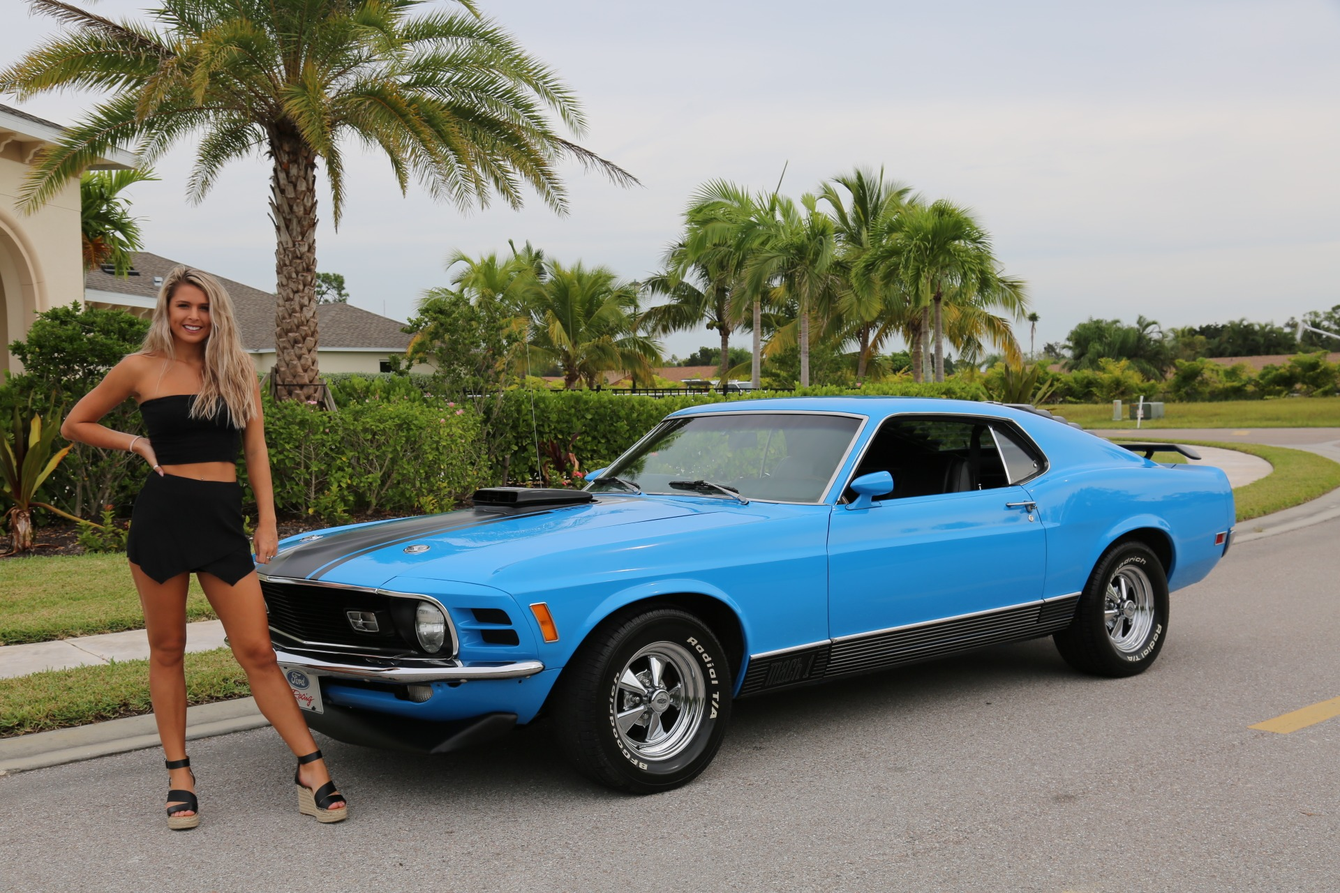 Used 1970 Ford Mustang Mach 1 for sale Sold at Muscle Cars for Sale Inc. in Fort Myers FL 33912 1