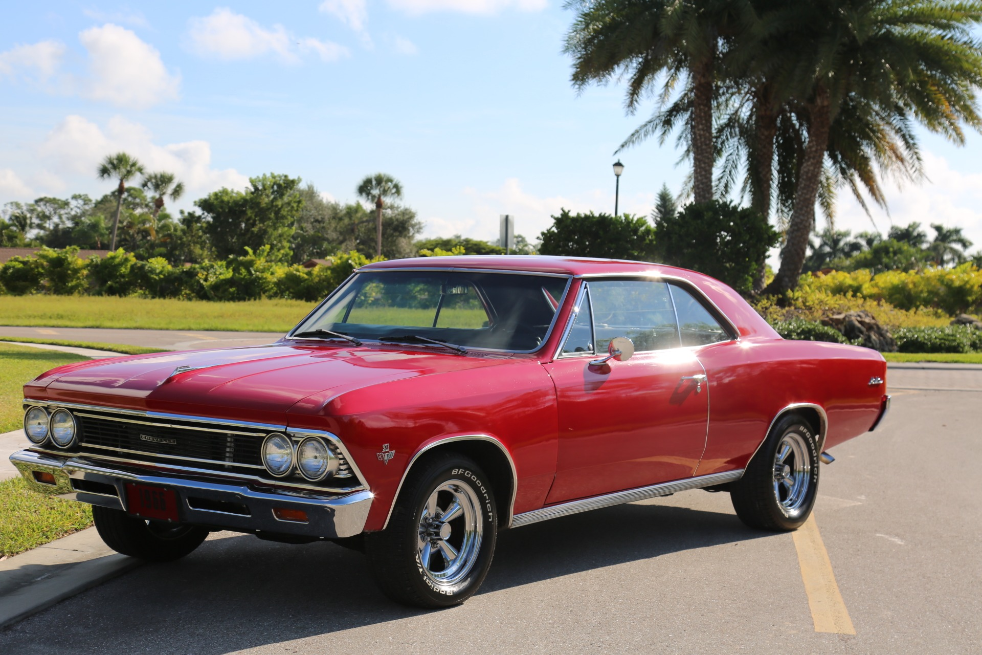 Used 1966 Chevrolet Chevelle Malibu 327 for sale Sold at Muscle Cars for Sale Inc. in Fort Myers FL 33912 2