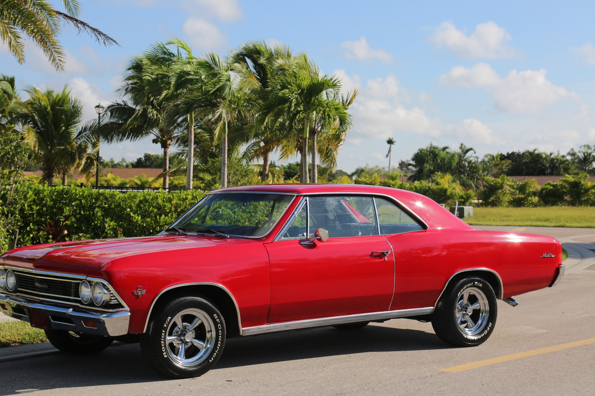 Used 1966 Chevrolet Chevelle Malibu 327 for sale Sold at Muscle Cars for Sale Inc. in Fort Myers FL 33912 3