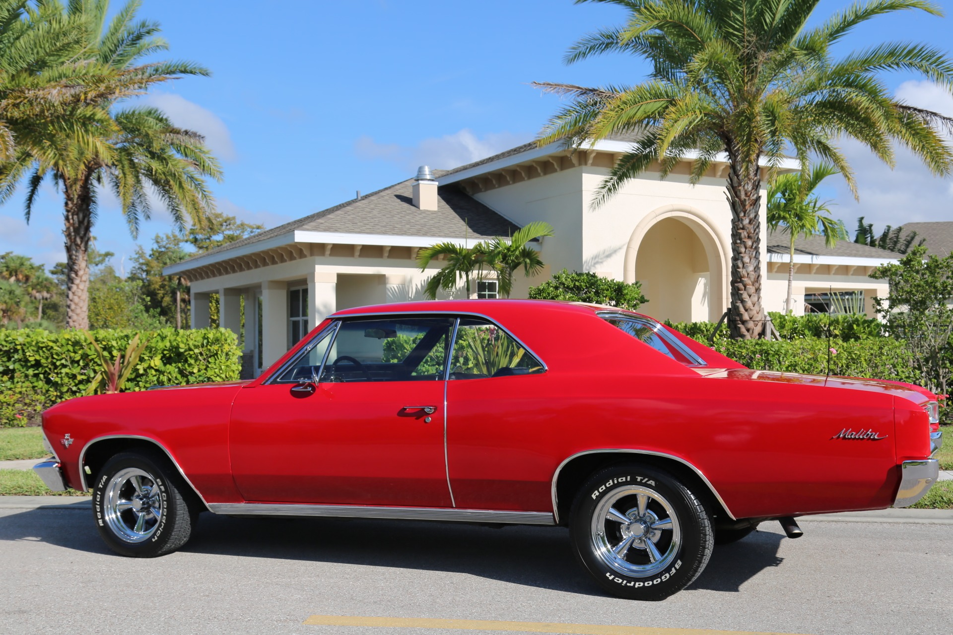 Used 1966 Chevrolet Chevelle Malibu 327 for sale Sold at Muscle Cars for Sale Inc. in Fort Myers FL 33912 7