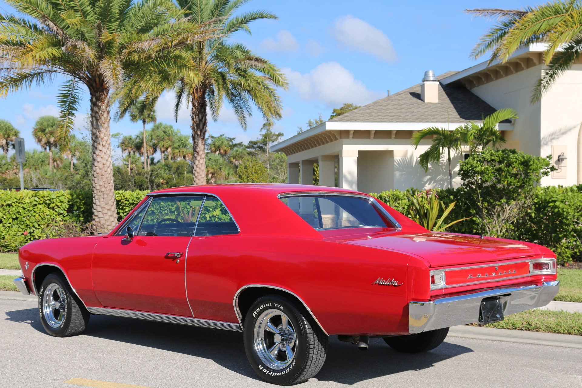 Used 1966 Chevrolet Chevelle Malibu 327 for sale Sold at Muscle Cars for Sale Inc. in Fort Myers FL 33912 8