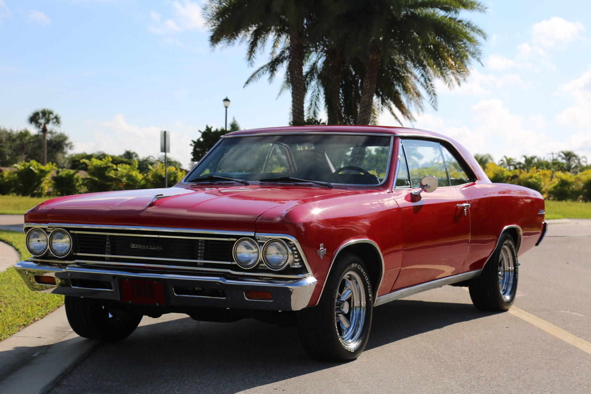 Used 1966 Chevrolet Chevelle Malibu 327 for sale Sold at Muscle Cars for Sale Inc. in Fort Myers FL 33912 1