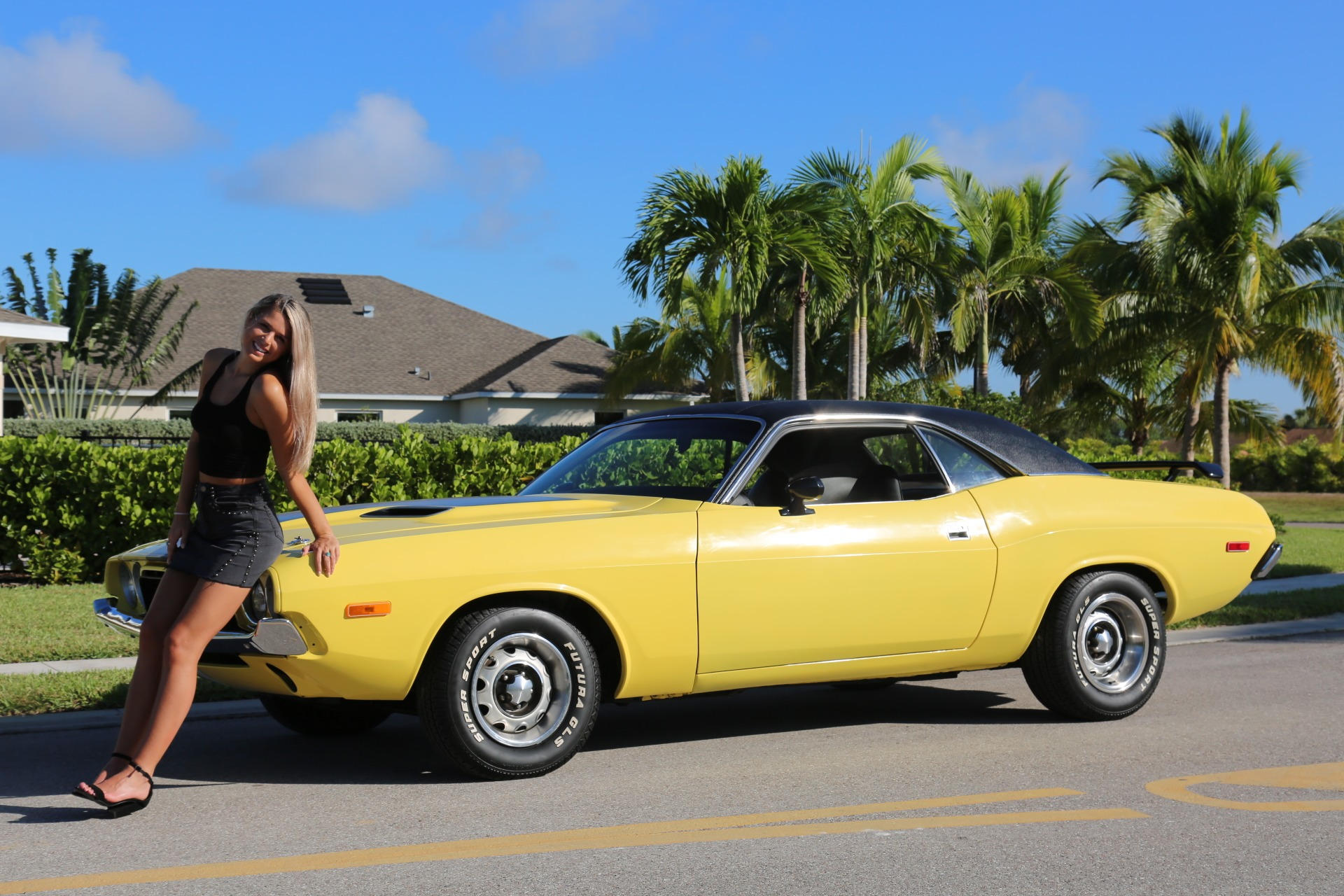 Used 1973 Dodge Challenger 440 V8 for sale Sold at Muscle Cars for Sale Inc. in Fort Myers FL 33912 2
