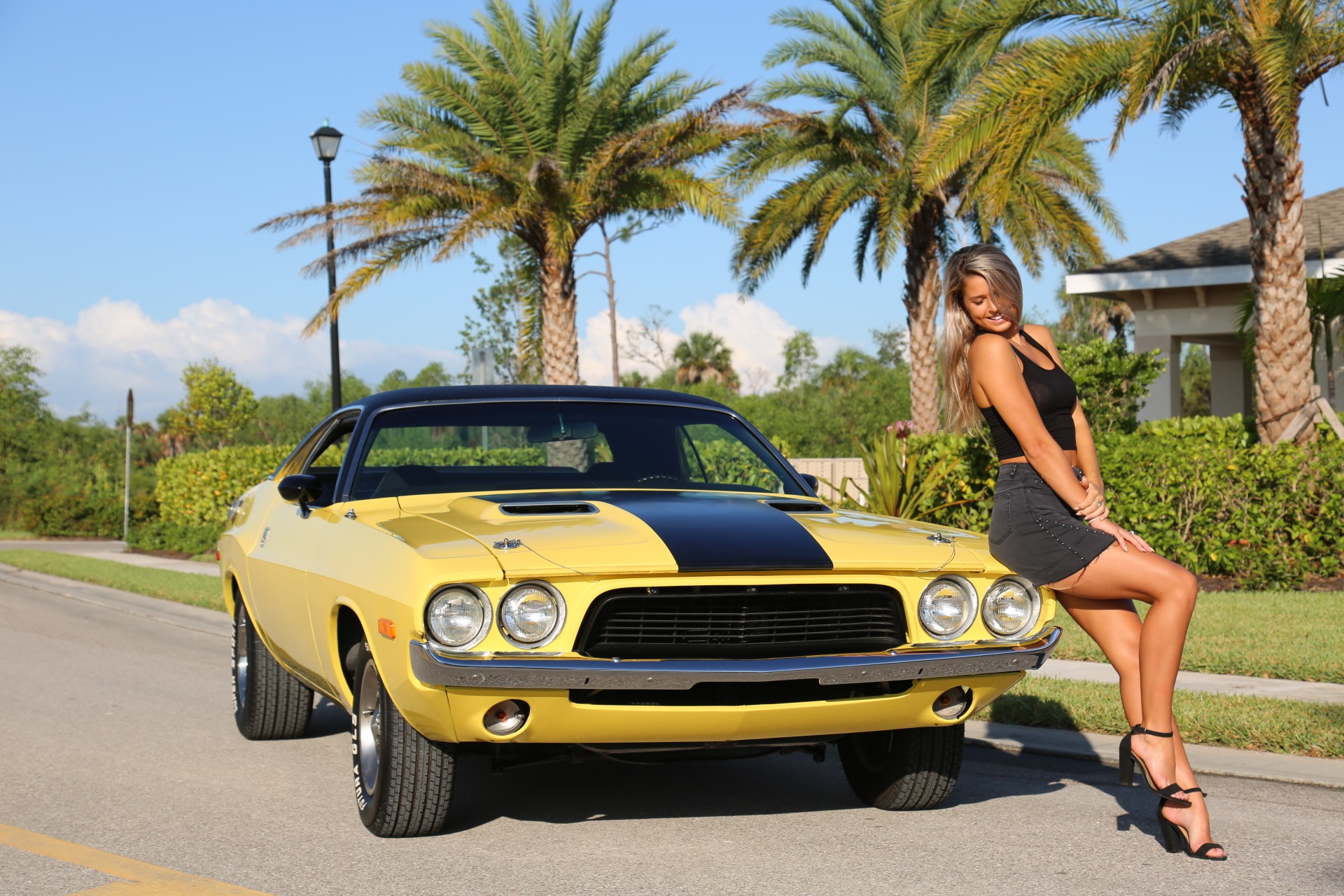 Used 1973 Dodge Challenger 440 V8 for sale Sold at Muscle Cars for Sale Inc. in Fort Myers FL 33912 3