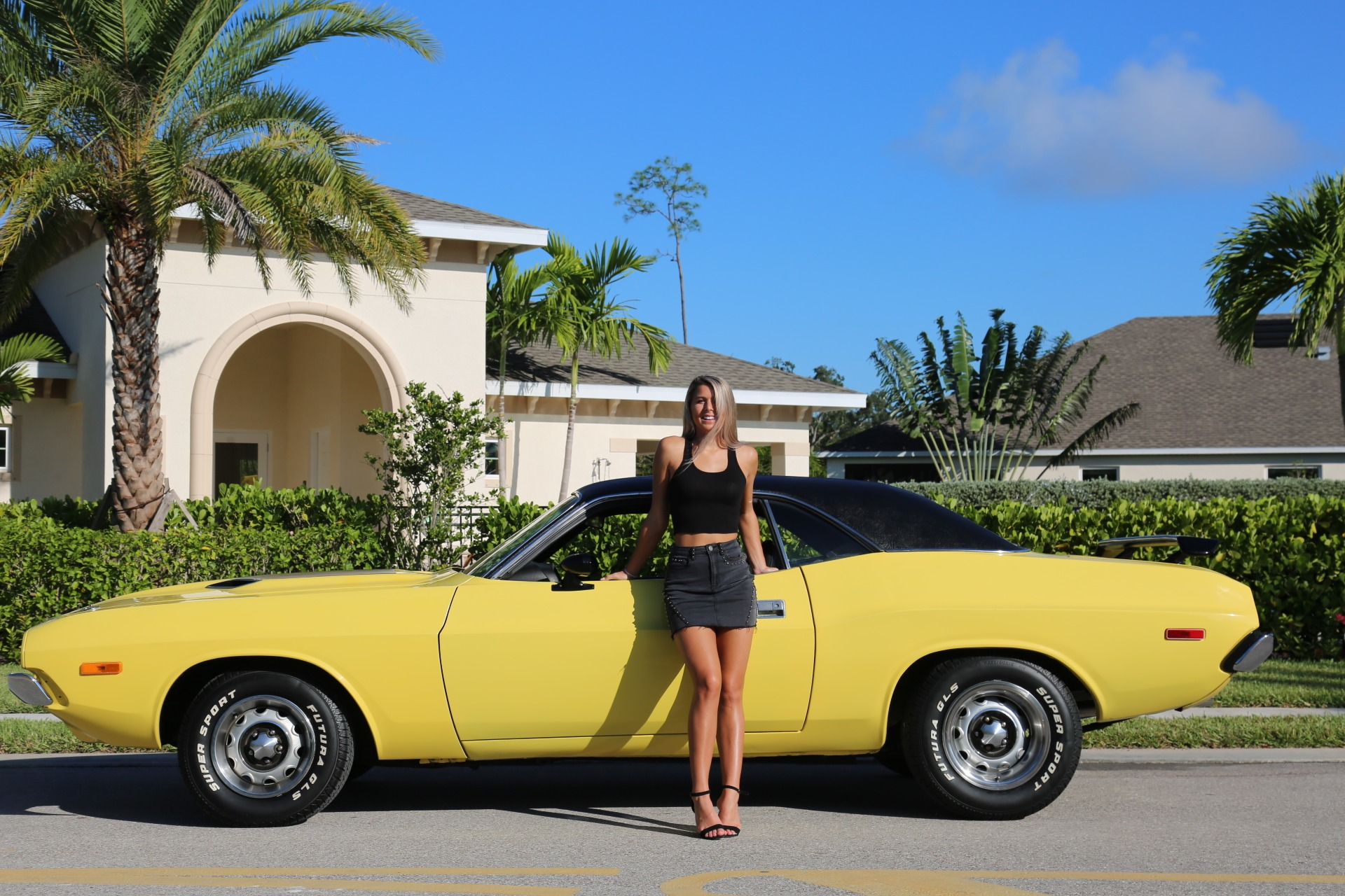 Used 1973 Dodge Challenger 440 V8 for sale Sold at Muscle Cars for Sale Inc. in Fort Myers FL 33912 5