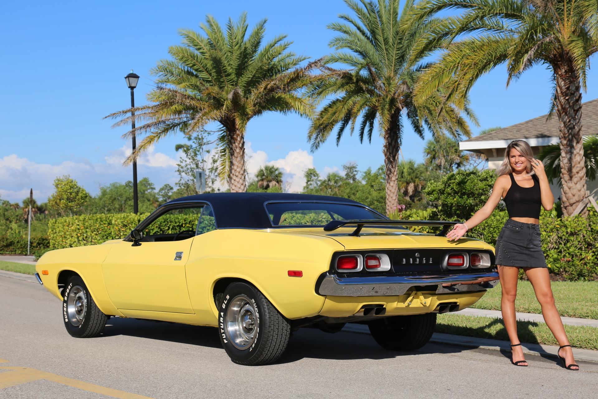 Used 1973 Dodge Challenger 440 V8 for sale Sold at Muscle Cars for Sale Inc. in Fort Myers FL 33912 6